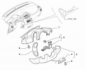 STEERING COLUMN GUARDS
