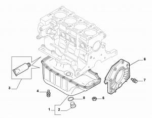 OIL SUMP AND CRANKCASE COVERS