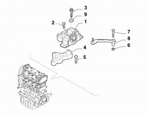 GEARBOX INLET SCREW ANCHOR SUSPENSION