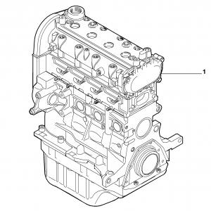 SEMI-COMPLETE ENGINE
