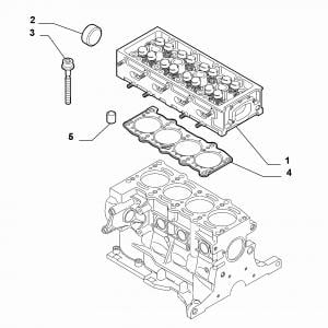 CYLINDER HEAD AND GASKETS